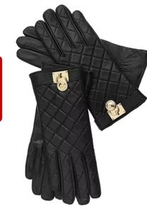Brand New Michael Kors Leather Tech Gloves NWT